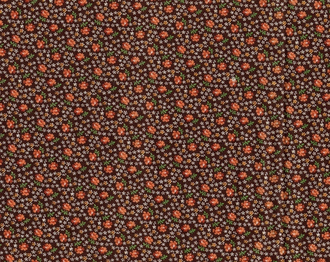Calico floral fabric, ditsy floral print fabric, Cranston Print Works, VIP