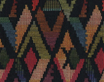 Upholstery fabric Aztec heavy woven for Southwest interiors