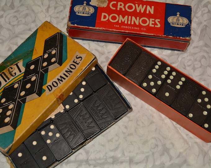 Mixed media Collage supplies, junk drawer lot with dominos ephemera