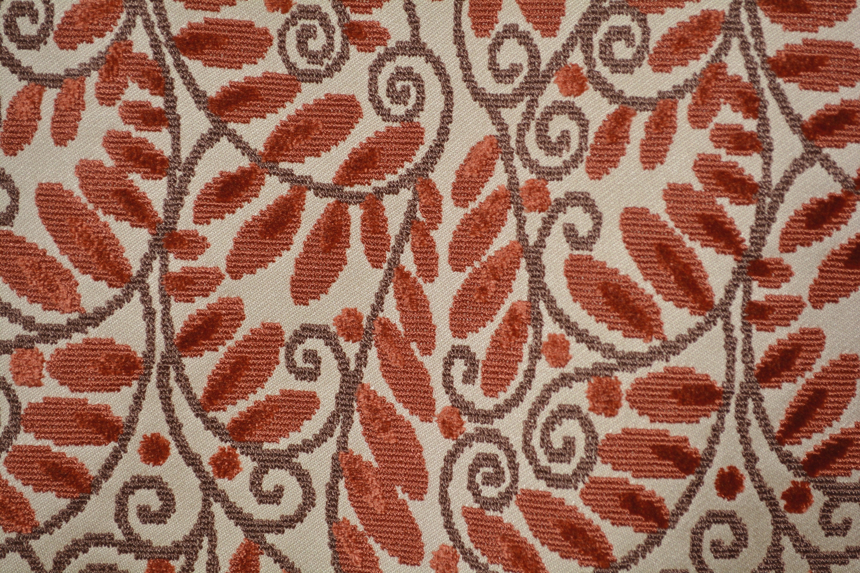 Stroheim Vintage Upholstery Fabric Epingle Cut Velvet Hollywood