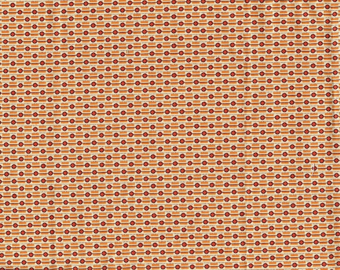 DS quilt collection fabric, Denyse Schmidt orange tiny scale print