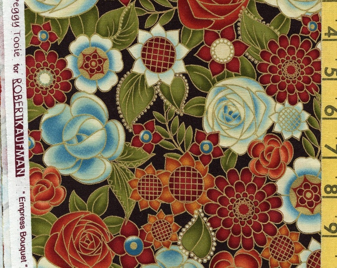 Japanese floral fabric, Peggy Toole Robert Kaufman