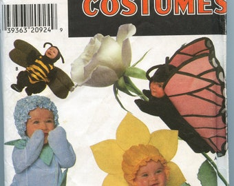 Simplicity Costumes Pattern, Anne Geddes style, Size A