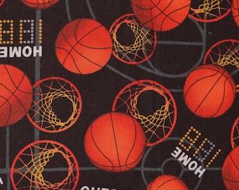 Basketball fabric by the half yard, David Textiles