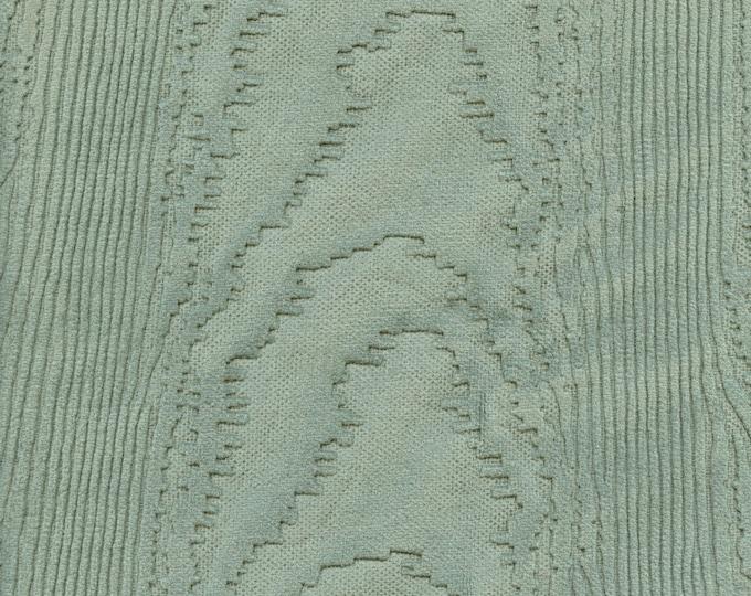 embossed wood grain Velvet upholstery fabric remnant, 1940s or 1950s