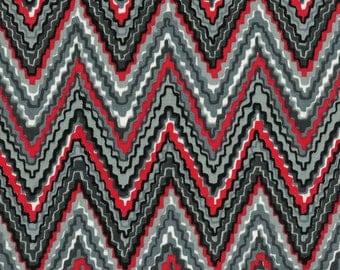 Chevron print fabric, flame stitch print upholstery fabric