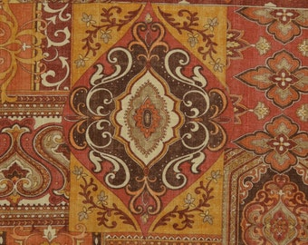 Persian inspired upholstery fabric, Covington by the yard