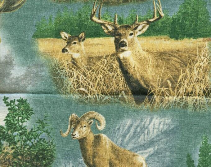 Big game fabric, hunting moose, deer, big horn sheep Hautman