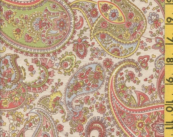 Bohemian Paisley print upholstery fabric, Liz Claiborne