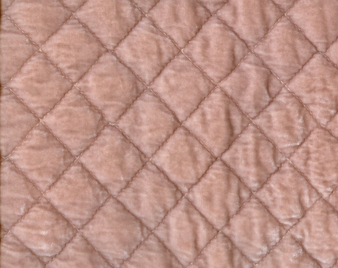 Silk velvet quilted fabric, Bella Notte fabric samples