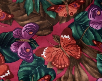 100 % cotton fabric, Alexander Henry fabric, Butterfly fabric