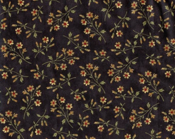 Reproduction floral fabric, moda Peace Creek Drygoods