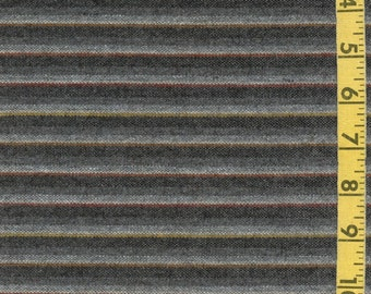 Gray striped Pure wool fabric, light weight possibly Pendleton