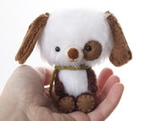Teo  miniature teddy bear plush toy Made to Order