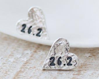 Marathon Earrings, Runners Earrings, gift for runner, marathon runners earrings, running jewellery, runners jewellery, marathon jewellery