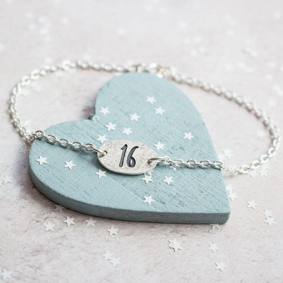 Sweet 16 Birthday Bracelet 16th Gifts For Girls