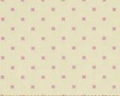 SALE - Lottie Da - By Heather Bailey - Lottie Dot - Cream - 1 Yard - 7.50 Dollars