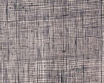 Heath - Bone/Black - From Alexander Henry - (6683ZJ) - One Yard - 10.95 Dollars