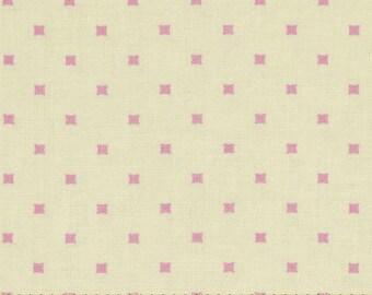 Lottie Da - By Heather Bailey - Lottie Dot - Cream - 1 Yard - 7.95 Dollars