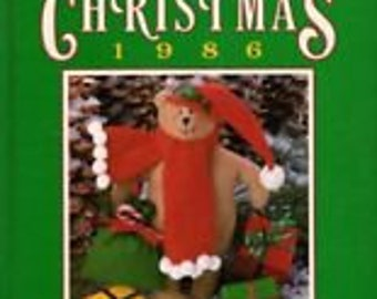 SALE - Creative Ideas For Christmas - 1986 - Compiled And Edited By Nancy Janice Fotxpatrick - From Oxmoor House - 3.99 Dollars