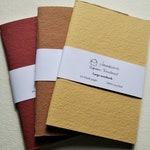 Large blank notebooks | Traveller notebook insert | Travel journal | bujo | Assorted colours