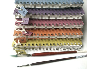 Watercolour sketchbooks