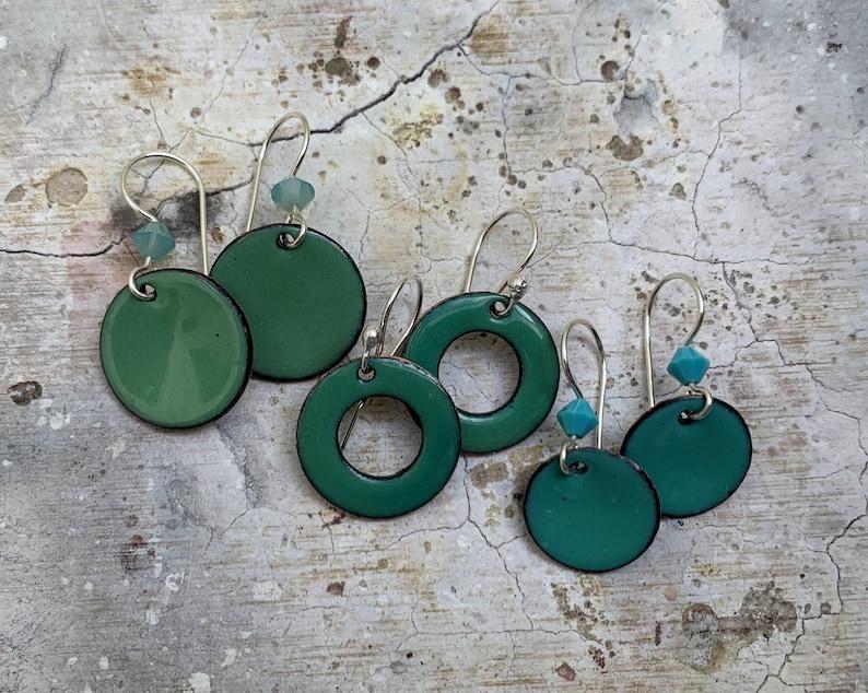 Crazy for hoop earrings!