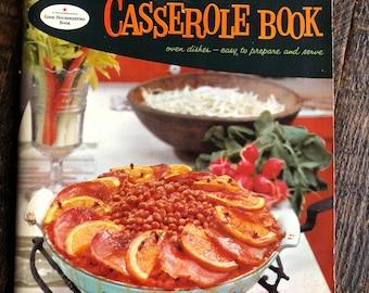 1958 Good Housekeeping's Casserole Book Vintage 50s Cookbook