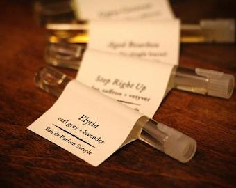 Wee Samples - Set of Four Perfume Oil Samples