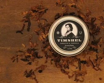 Timshel - Tobacco and Vanilla Scented Balm