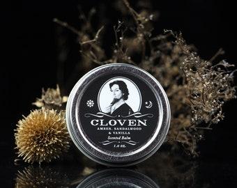 Cloven - Amber, Sandalwood, Vanilla and Cedar Scented Balm