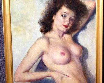 LARGE CANVAS 20X24 Print  Sale Freid Pal Burlesque Paris Showgirl Dancer Art Deco 20s, 30s 40s Pin-up Dancers, Ballet Pinup Burlesque