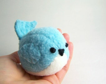 Pudgy Aqua Blue Bird