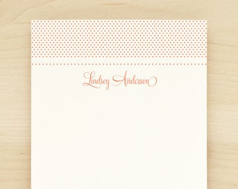 SWEETHEART Personalized Notepad - Teacher Custom Letterhead