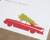 Classic Car Christmas Card Set