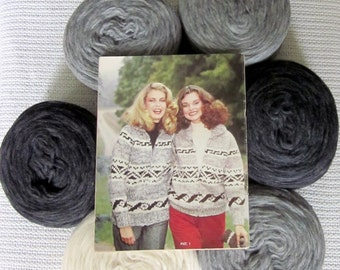 Cowichan Sweater Patterns Canadian Wool By Raincoaststudio On Etsy