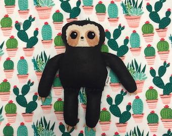 Little Sloth - Small Eco-friendly Felt Plush Sloth