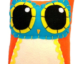 Owl Mama - Eco-friendly Felt Plush Owl