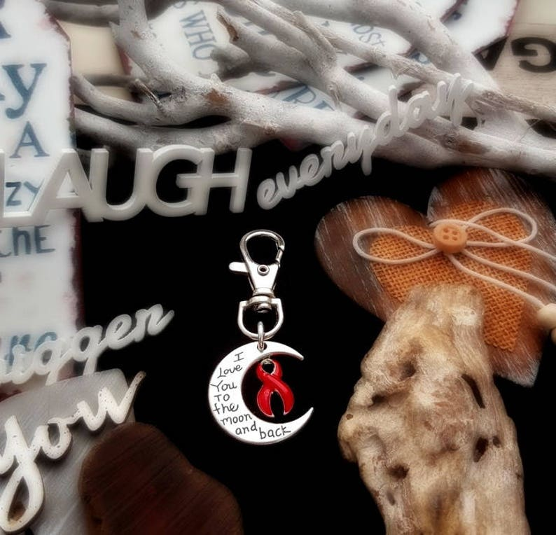 RE-3 Stroke Awareness I Love You To The Moon and Back Gift For image 0
