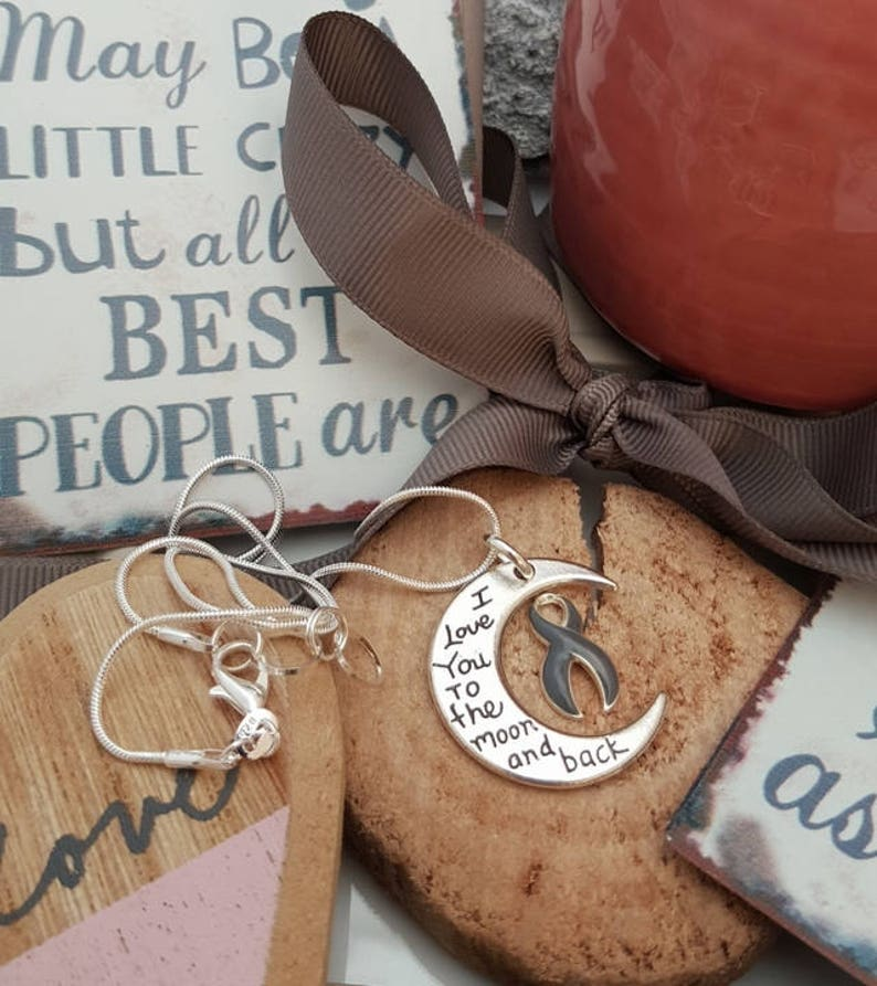 Holly Road Lymphedema Disease Silver Chain Necklace Choose Your Text