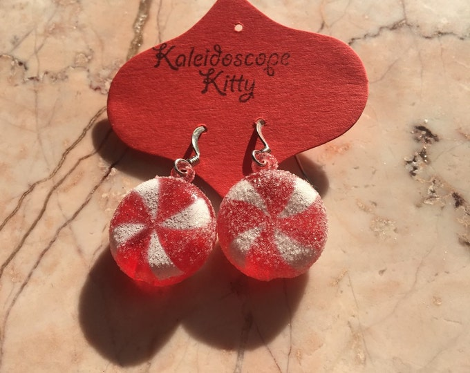 Happy Holiday Candy Earrings