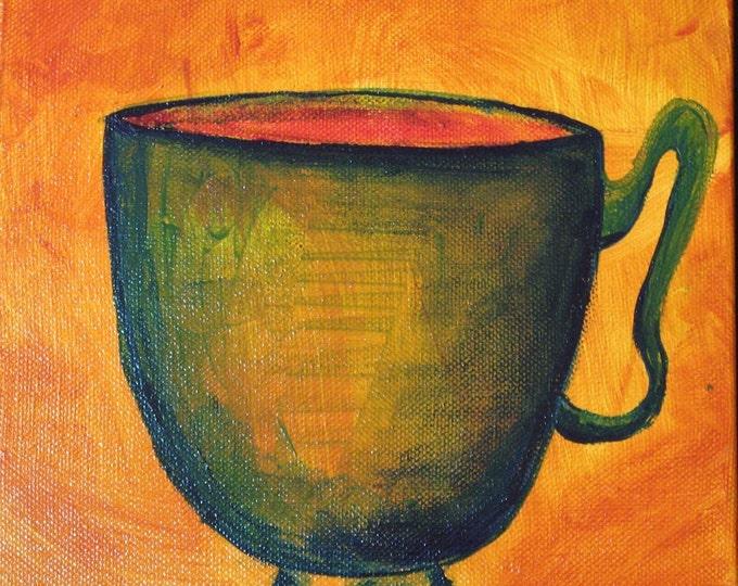 Cupppochino- Original Painting