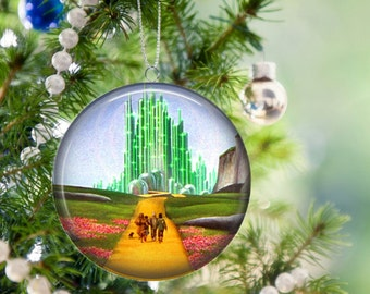 wizard of oz christmas tree ornament 225 inch available in magnet pin or pocket mirror no 1