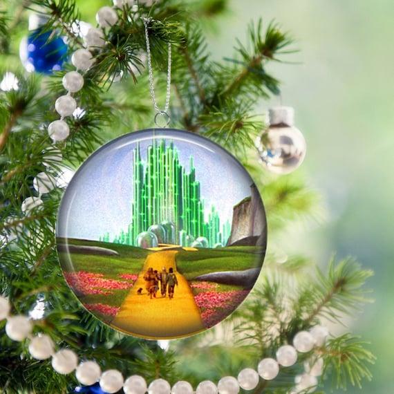 Wizard Of Oz Christmas Tree Ornament Unbreakable Flat Metal
