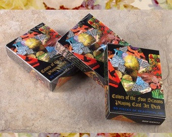 Colors of the Four Seasons Collaborative Playing Card Deck