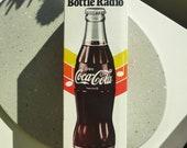 Coke bottle transistor AM radio (not currently working)
