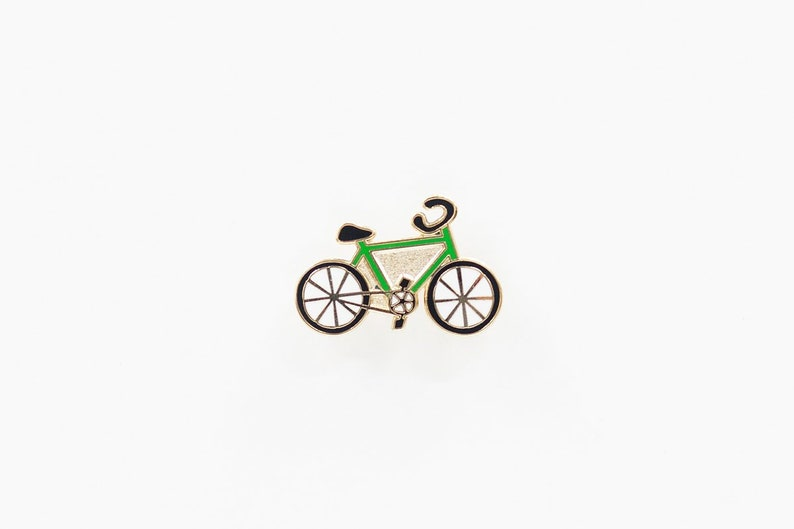 Bike Enamel Pin image 0