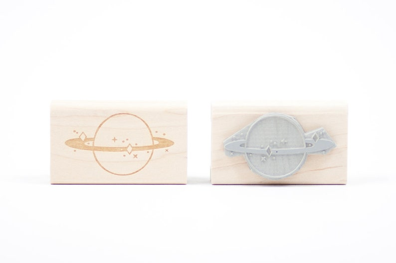 Saturn Rubber Stamp image 0