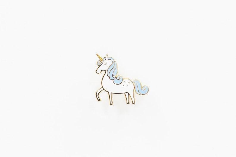 Unicorn Enamel Pin image 0