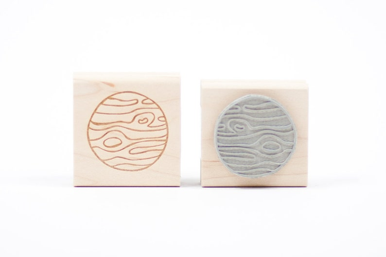 Jupiter Rubber Stamp image 0